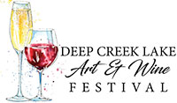 Deep Creek Lake Art & Wine Festival Logo
